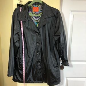 ShedRain XL NWOT 'Vintage' Black Raincoat ☔️